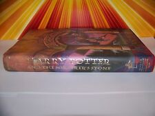 Harry Potter and the Sorcerers Stone First Edition Book Early Printing LOOK