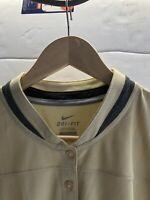 Nike Womens Dri-Fit Golf Pullover Shirt Top NWT Size M, L, XL, XXL Style 536532