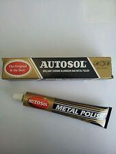 Solvol Autosol Chrome Aluminium & Metal Paste Polish Car Motorcycle FREE POST!