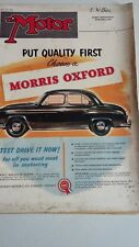 THE MOTOR MAGAZINE 30/5/56 Test The Standard Family Ten, Scottish Rally, Oxford