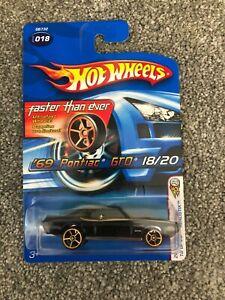 Hotwheels 69 Pontiac GTO! Faster Than Ever! VHTF!