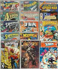 Lot of 148: Assorted Comics Marvel Dc X-Men Spider-Man Superman Wolverine Jla