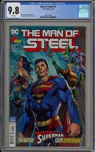 MAN OF STEEL #1 - SUPERMAN - CGC 9.8 - 1620279013