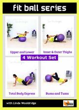 STABILITY BALL Workout DVD Barlates Body Blitz FIT BALL SERIES 4 Workouts
