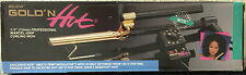 "BELSON GOLD 'N HOT 1/2"" PROFESSIONAL MARCEL-GRIP CURLING IRON-24K GOLD PLATED"