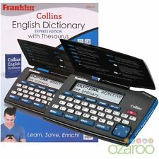 Franklin elettronica Express Collins ENGLISH DICTIONARY & thesaurus-dmq-221