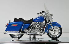 Harley-Davidson 1997 FLHR Road King blue 1:18 Motorcycle Model maisto die-cast