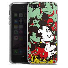 Apple iPhone SE Silikon Hülle Case - Mickey Muse