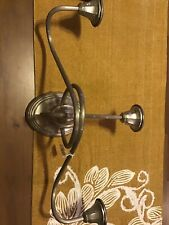 Bombay Co. Silver Plated Wall Sconce-3 Candles-Measuring 21 Inches By 11 Inches
