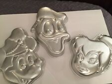 Lot Disney Donald Duck and Mickey Mouse Wilton Cake Pans Tinker bell Tinkerbell