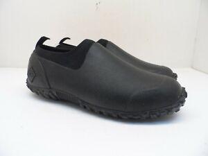 Muck Boots Men's Muckster II Low Rubber Hunting Rain Shoes M2L-000 Black 7M
