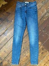 Topshop Jamie Jeans W28 L34 Blue Skinny