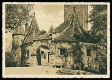 Deutschland Ak Rothenburg Ob Der Tauber Alte Ansichtskarte Foto-ak Postcard Cx42