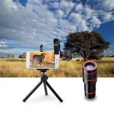 Mini 8 x 18 HD Zoom Clip Phone Telescope Optical Lens Camera for Universal Phone