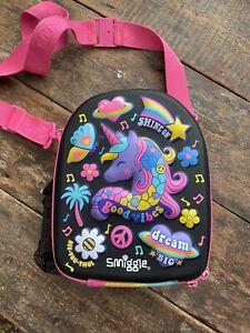 Smiggle Unicorn Rainbow Lunch Bag Box
