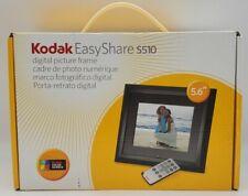 """Kodak EasyShare S510 5.6"""" Digital Picture Frame w/ Remote Black"""