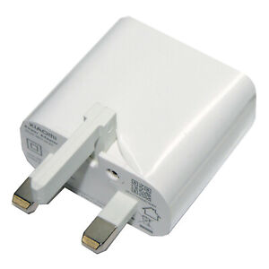 Genuine Xiaomi 2AMP USB Adapter Mains Charger MDY-08-EP White  New UK