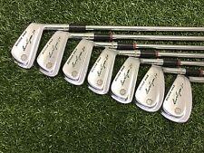 NICE Ben Hogan Golf BOUNCE SOLE 1+ Iron Set 3-9 Right RH Steel Apex #3 REGULAR