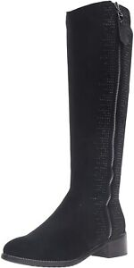 Azura By Spring Step Blackenbury Womens Black Riding Boots