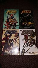 Mighty Avengers Volumes 1-4 by Bendis, Cho, Bagley & more Marvel Premiere Hcs