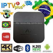 Newest A2   IPTV5plus Brazilian Portuguese TV BOX Brazilian LIVE TV HTV5 Upgrade