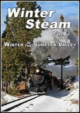 Winter Steam Vol 3 Winter in the Sumpter Valley DVD NEW James Parfrey heisler