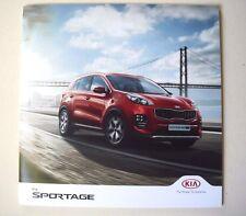 Kia . Sportage . Kia Sportage . December 2016 Sales Brochure
