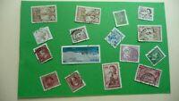 9960    -  timbres avec étampe de ville