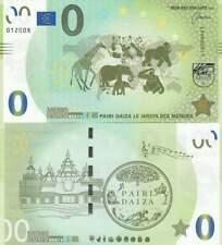 Biljet billet zero 0 Euro Memo - Pairi Daiza le Jardin des Mondes (027)