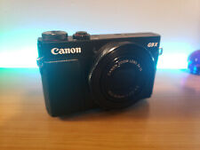 Canon PowerShot G9 X Mark Ii 20.1Mp Digital Camera w/ Accessories - Black