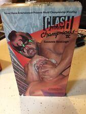 Clash of the Champions 4 IV (VHS, 1988) WCW NWA WWF WWE DUSTY RHODES RARE