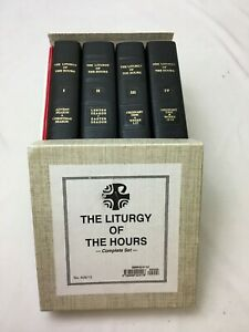 COMPLETE 4 VOLUME BOX SET The Liturgy of the Hours No. 409/13