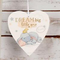 Disney Heart Plaque Dream Big Little One Baby Gift DI399