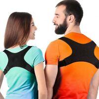 Sale One size fit all  Soft Posture Corrector Shoulder Support Adjustable Brace