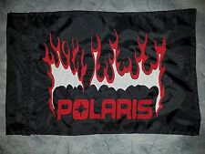Custom Polaris Flames Flag for ATV UTV Bike Jeep Dune Safety Flag Whip Pole