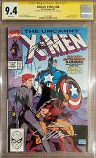 Uncanny X-Men 268 2X Claremont Lee CGC 9.4 Lee Regular Artist & Flashback Tale