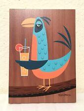 SDCC 2018 - SHAG Josh Agle - TIKI BIRD Wood Print - BELLINI BIRD ONLY -LE 18/200