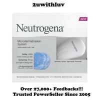 NEUTROGENA MICRODERMABRASION SYSTEM + PUFF REFILLS 12 COUNT FREE EXPRESS POST!