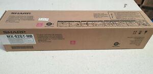 New & original Sharp MX62GT MB Magenta Toner Cartridge , Sharp MX-6240N, MX-7040