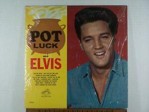 Elvis Presley Pot Luck 1962 RCA LPM 2523 Mono Longplay at bottom w/shrink NM