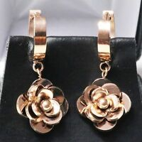 Gorgeous Earring Drop/Dangle Women Wedding Engagement Rose Shape Jewelry Gift