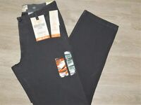 DOCKERS Downtime Khaki Pants Straight Fit Flex Smart 360 Stretch Steelhead Gray