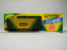 LIONEL 2-BAY CRAYOLA TRAIN HOPPER & CRAYONS O GAUGE freight coloring 3-17703 NEW