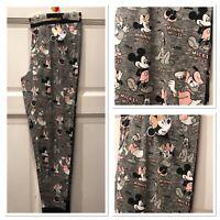 BNWT Primark Official Disney Mickey Minnie Pluto Donald Leggings Pyjamas 6-20