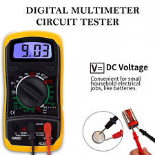 Digital Multimeter Circuit Tester LCD Voltmeter Ammeter AC DC OHM Current Buzzer