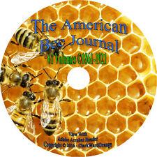 61 Volumes on DVD American Bee Journal Magazine, Beekeeping Beekeeper Apiculture