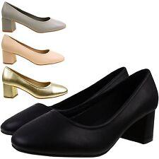 Block Mid Heel (1.5-3 in.) Business Court Shoes for Women