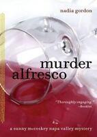 Murder Alfresco Paperback Nadia Gordon