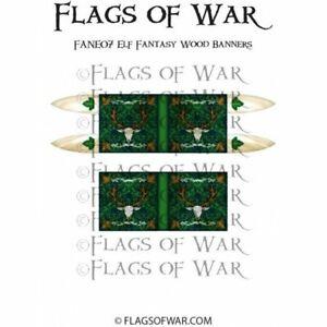 Elf Fantasy Rose Banners New