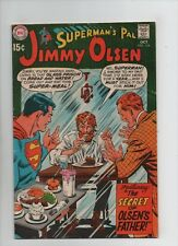 Superman's Pal Jimmy Olsen #124 - Secret Of Olsen's Father! - (Grade 5.0) 1969